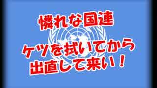 【憐れな国連】 ケツを拭いてから出直して