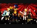 【MMD】クーナとミク達で千本桜【PSO2】