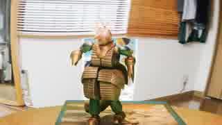 [コマ撮り] 怪物モゲラ!! 走るっ! 踊るっ! 地球防衛軍を見るっ!
