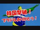 【韓国撃破】 ブラジルありがとう!
