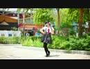 【足太ぺんた】即興で純情スカート 踊ってみた【シンガポール】