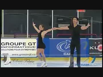 マリッサ・カステリ&マーヴィン・トラン組 2014 Quebec Summer Champs ...