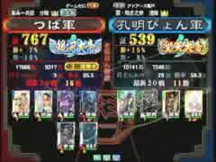三国志大戦3 頂上対決 2014/8/15 つば