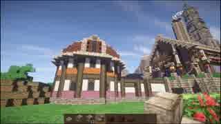 【Minecraft】ゆっくり街を広げていくよ part3-1