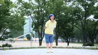 【初ソロ!】汗だくで ハッピーシンセサイザ 踊ってみた【しゅおん】