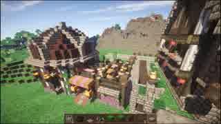 【Minecraft】ゆっくり街を広げていくよ part3-2