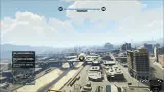 [GTA5] 戦闘機 エスコンの曲でPKモンタージュ的なものを作ってみた。