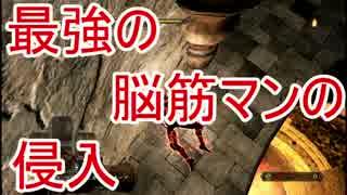 【ダークソウル2】最強の脳筋マン(筋.持99)の侵入