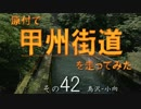 原付で甲州街道を走ってみた(その42)鳥沢-小向