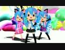 【MMD】EX-GIRL【ミロさん風ミク】