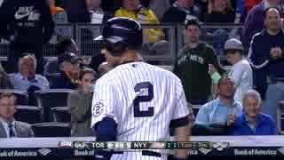 【MLB】ジーターのファールボールを脅威の肩力で投げ返す幼女