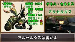 【MH4】ゆっくりモンハン図鑑23【ゆっ