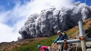 2014.9.27 御嶽山噴火に巻き込まれる登山
