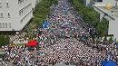 【新唐人】香港学生1万3千人が授業ボイコット 当局に抗議