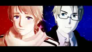 【APヘタリアMMD】 What Makes You Beaut