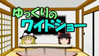 ゆっくりのワイドショー第3回放送