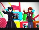 【遊戯王MMD】ガッチャとサンダーでプリン戦争
