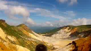 日本百名山に登ってみた48C-1/2 安達太良