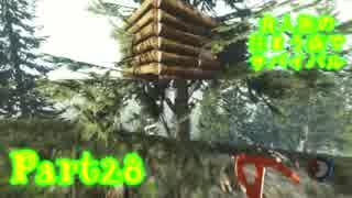 【実況】食人族の住まう森でサバイバル【The Forest】part28