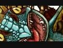 ヒックとドラゴンのアスティとデッドリーデンジャーを描いてみた