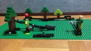 レゴで飛び出す絵本 ウィリアム・テル