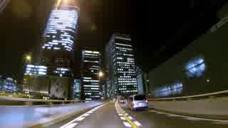 夜景ドライブ 阪神高速環状線