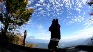 写真の集  篠井山 富士眺望