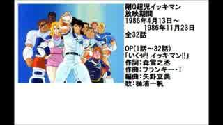 80年代アニメ主題歌集 剛Q超児イッキマン
