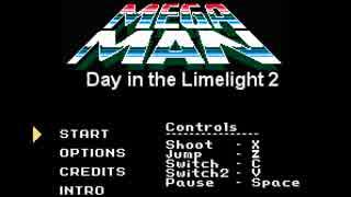 【同人ロックマン】Mega Man Day in the Limelight 2 実況プレイその1