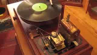 革命的 蒸気で動くレコードプレーヤー