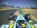 F1 2005 ルノーR25 V10 アロンソ オンボード