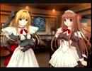 パルフェ PS2 風美由飛05・花鳥玲愛08・杉澤恵麻12・夏海里伽子10 プレイ