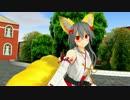 【MMD艦これ】榛名に千狐のコスプレをしてもらった【城プロ】