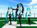 【MMD】Girls【トリプルミク】