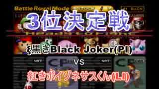 【実況】64スマブラCPUトナメpart7[3位決