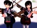 【MMD】美少女一航戦【赤城・加賀】