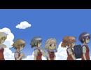 ひだまりスケッチ×ハニカム 第3話「8月31日 夏休み最後の来訪者」(宮子視点)/「9月1日 おかしもち」(ゆの視点)