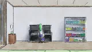 【東方手書き】ピアノのある風景03