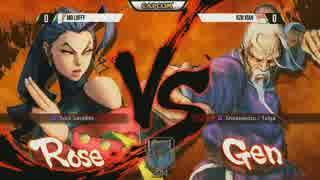 CapcomCup2014 WinnersFinal Luffy vs Xian ウル4