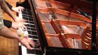 【まらしぃ&事務員G】剣の舞をピアノで連弾してみた。 thumbnail