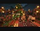 【Minecraft】緩やかに幻想建築Vol.1_洞窟街フォディタール-pt14 Xmas【女実況】