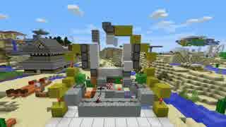 【Minecraft】 絶対に「薄型3x3ピストンドア」が作れる動画 後編 【1.15】