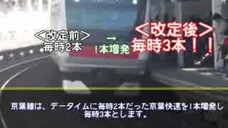 【迷列車で行こう 千葉県編#EX】~変わる千葉~ 2015年3月ダイヤ改正
