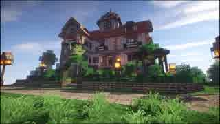 【Minecraft】ゆっくり街を広げていくよ part12-1