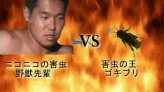 野獣先輩 VS ゴキブリ