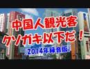 【中国人観光客】 クソガキだ!