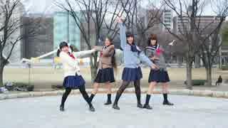 【ねこわかめ・あいしあ】 Girls be Ambitious! 踊ってみた 【カキ氷】