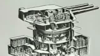米戦艦主砲のトレーニング用 映画