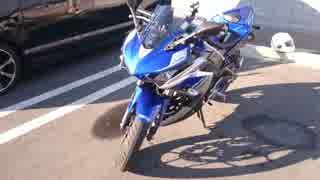 【初バイク】休日はR25とゆっくりと!その