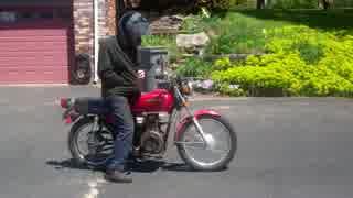 ホンダ CB125 ディーゼルエンジンバイク